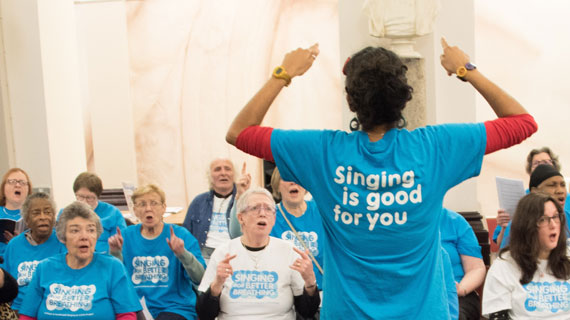 New research on COPD and singing in Medway