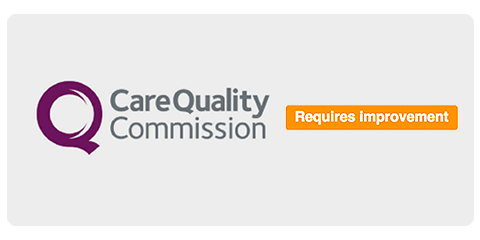 CQC Rating - Requires Improvement